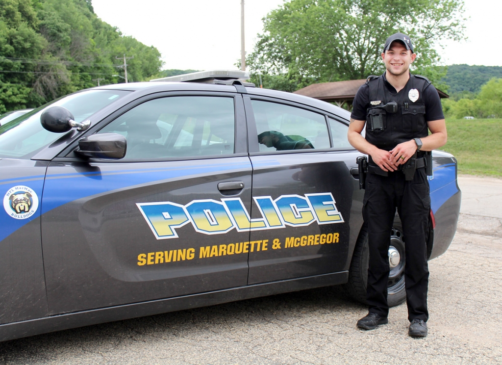 """By Audrey Posten, Times-RegisterOver a month into his new position as a Mar-Mac police officer, Dylan Ceynar said he's """"loving every part of the job.""""""""I'm really appreciative to the department for the opportunity to start my career here,"""" he..."""