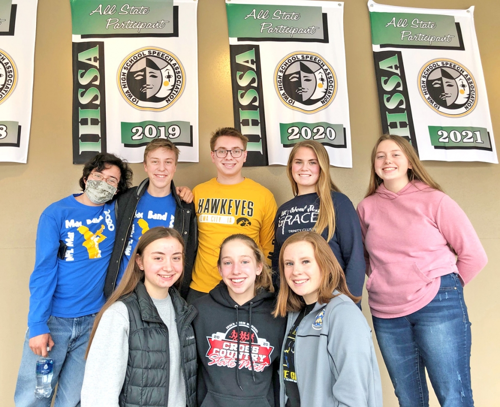 """By Audrey Posten, Times-RegisterA record eight MFL MarMac high school students have been nominated for All-State Individual Speech this year—a historic feat for a program that's seen steady growth and success.""""We're improving and getting better and better..."""